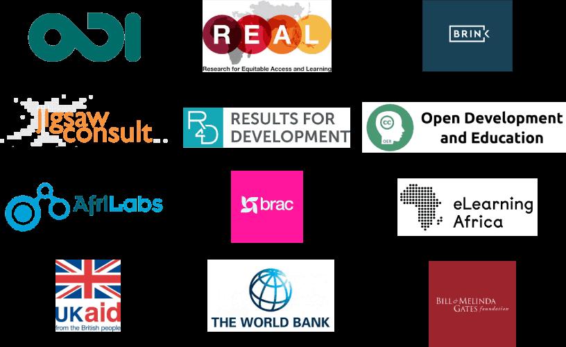 EdTechHub partner logos