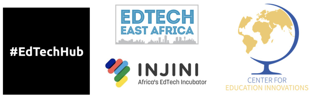 EdTech Hub, EdTech East Africa, Injini and Center for Education Innovations